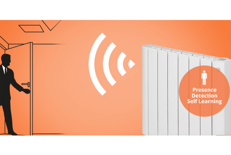 cali sense electric radiators with presence detection ecodesign feature