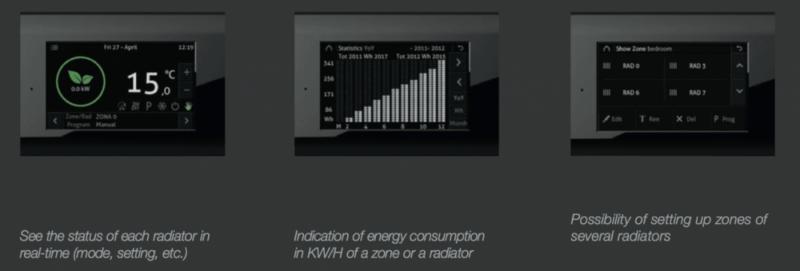 Needo Smart Energy zigbee electric heating programmer 1