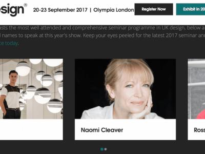 intelli heat electric radiators | 100 percent design show london
