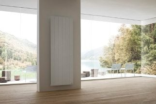 our futuristic vertical electric radiators far removed from inflexible bulky inefficient storage heater allow you to make the most of your wall space