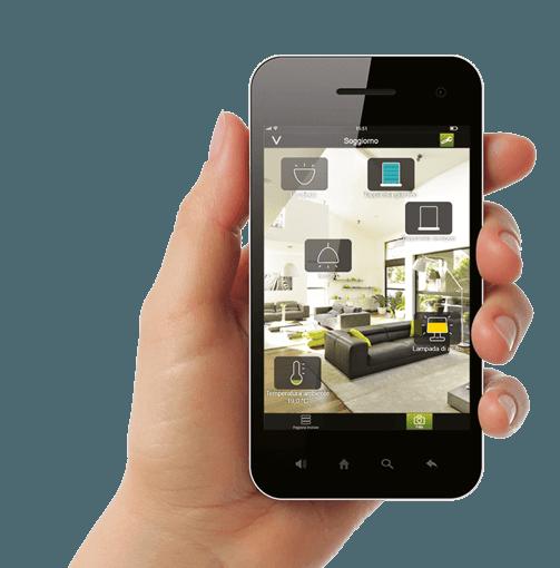 Phone showing Intelli heat App