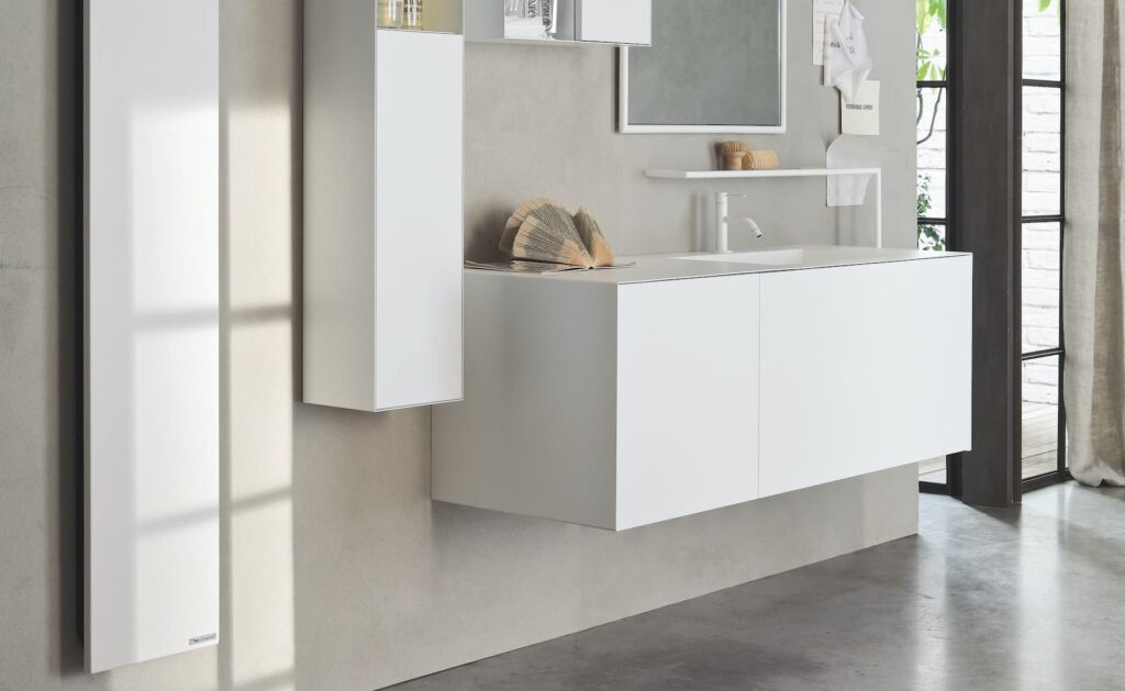 Italian Designer Electric Towel Radiator for bathroom