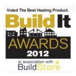Build it awards 2012 best heating product