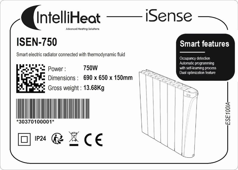 I-sense_labels Intelli Heat