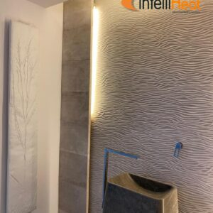Picture contemporary radiators with LED light by Creative Radiators