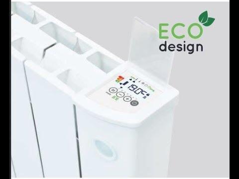 Intelli Heat Smart electric radiators Ecodesign certification and performance