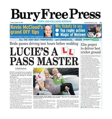Bury Free Press 2014