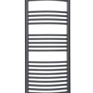 Balneum Ecodesign electric towel rail chrome front picture