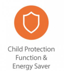 Child Protection Function intelli heat
