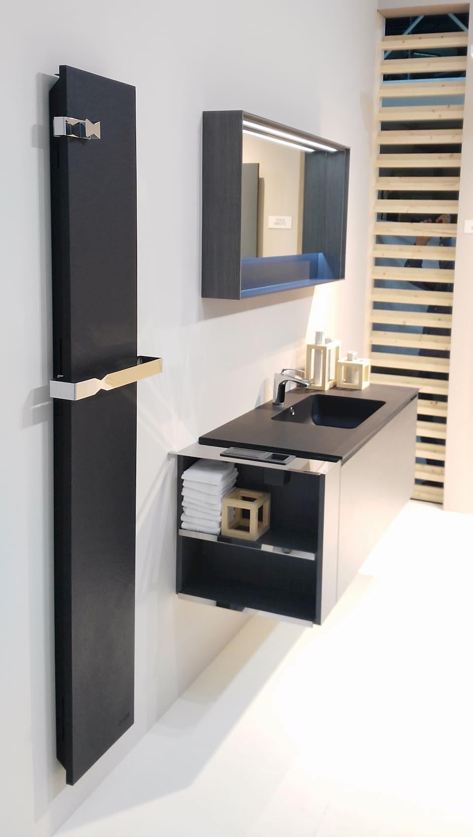 Creative Radiators decorative radiators install in a bathroom