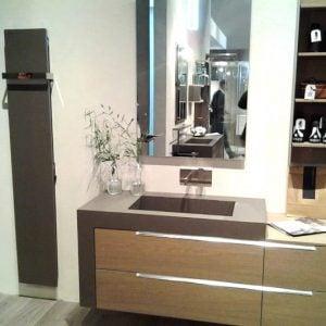 Creative Radiators designer Italian radiators install in a bathroom