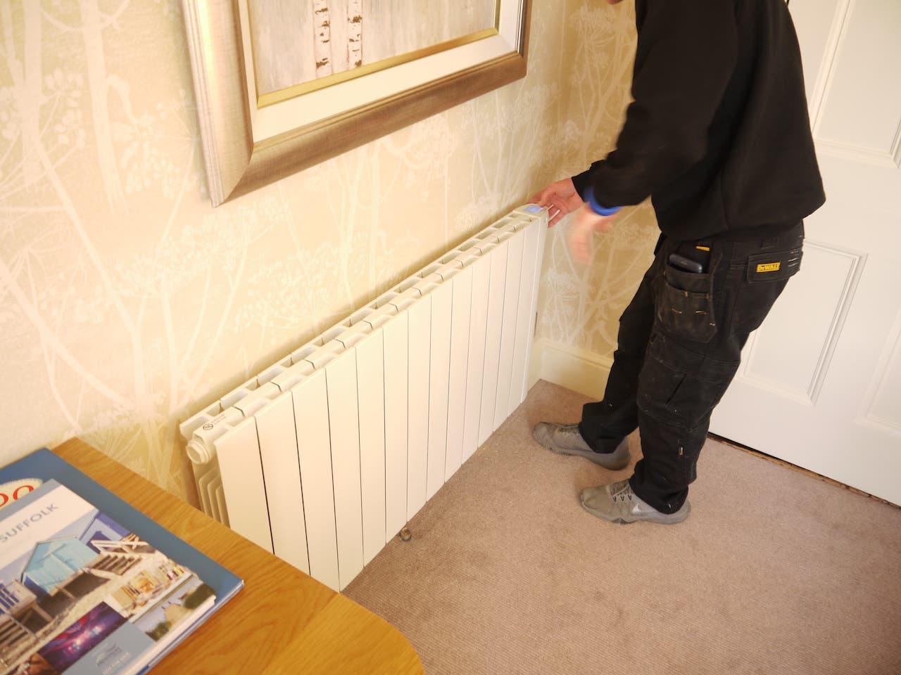 I sense eco-design - wifi electric radiators installation HOTEL