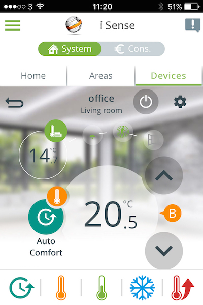 Wi-Fi Controlled Electric Radiators | controlled remotely via a user friendly smartphone app.