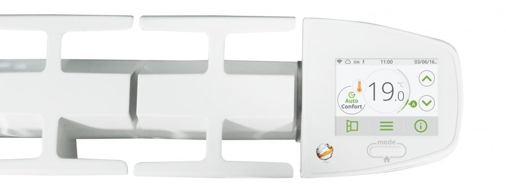 I-sense wifi electric Radiators - lcd digital ecodesign thermostat