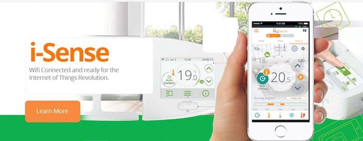 INTELLI HEAT i sense wi-fi electric radiators system