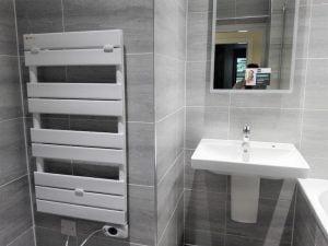 Intelli heat sophia designer electric towel rails Installation