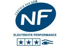 Electric radiators NF Electrical Performance certificate