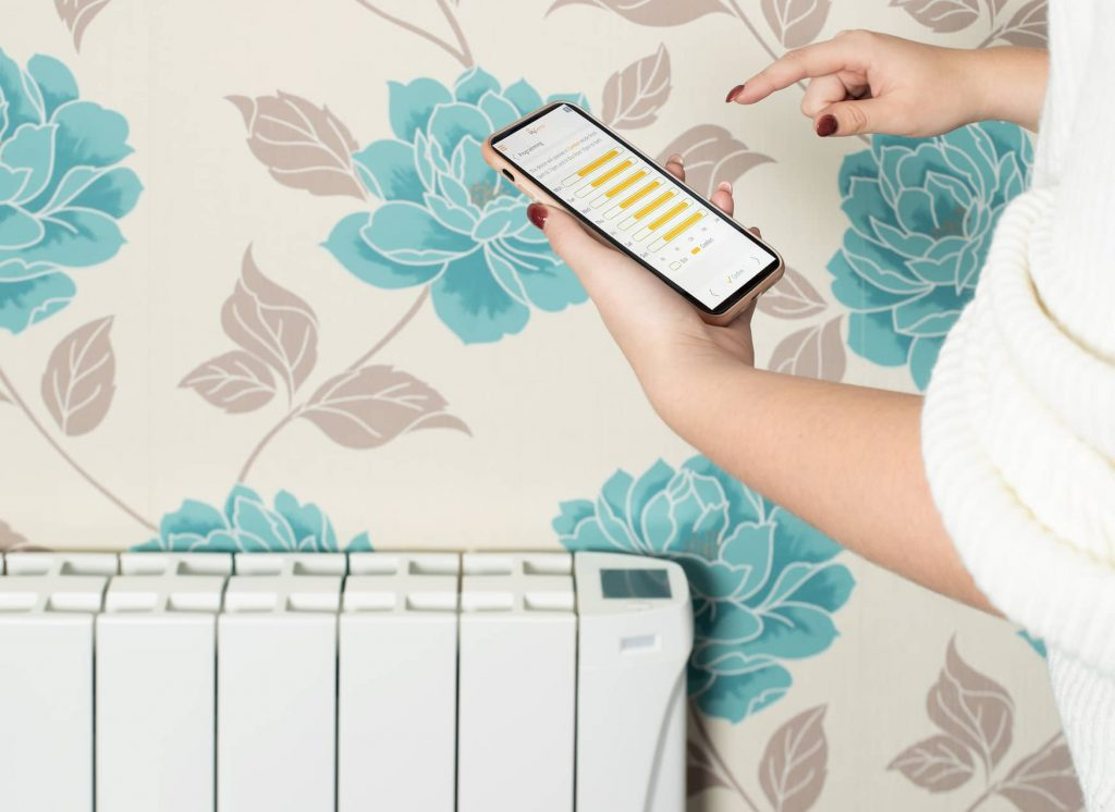 Picture isense wifi electric Radiators with Mysense App