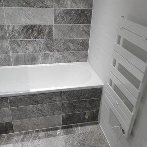 sophia electric towel warmer; electric towel rail, designer towel rail