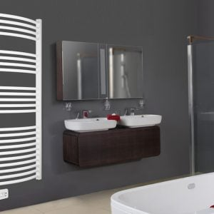 balneum ECODESIGN electric towel rail picture