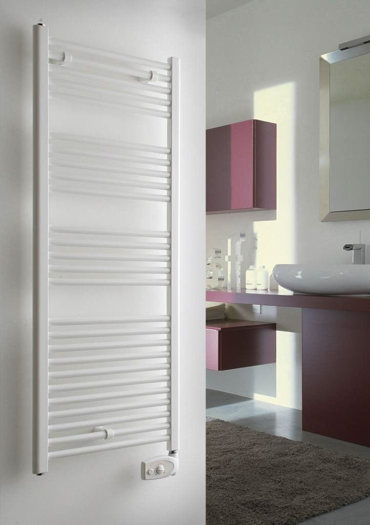 Energy saving designer electric towel rails by intelli heat for Electric heated towel rails for bathrooms