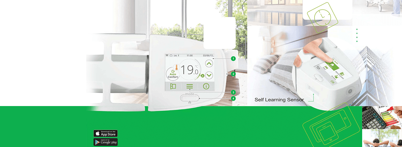 Intelli heat | cali sense smart electric radiators