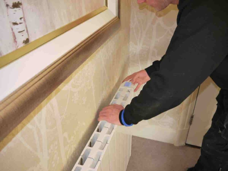I-sense eco-design wifi electric radiators 1200w | installation in a hotel room