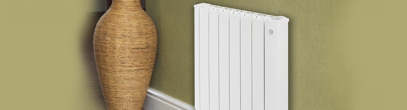 Cali Sense Range of Smart Electric radiators with built in ecodesign controls.