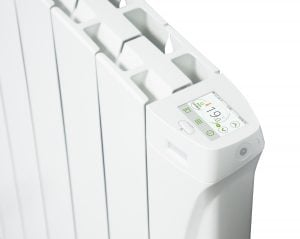 i-Sense wifi Smart Electric Radiators with built in ecodesign controls.