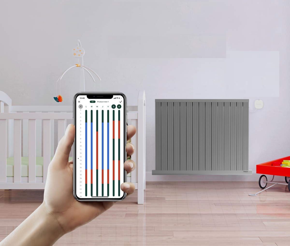 i-pilot app for needo designer radiators
