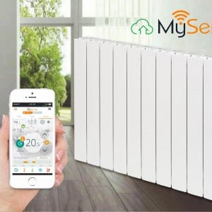 i-sense wi-fi radiators with my sense App by intelli heat