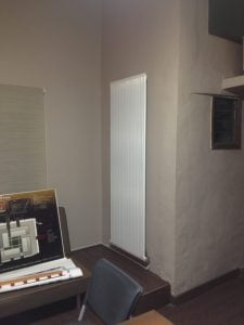 needo T Line 1500 w vertical electric radiators installation beirut