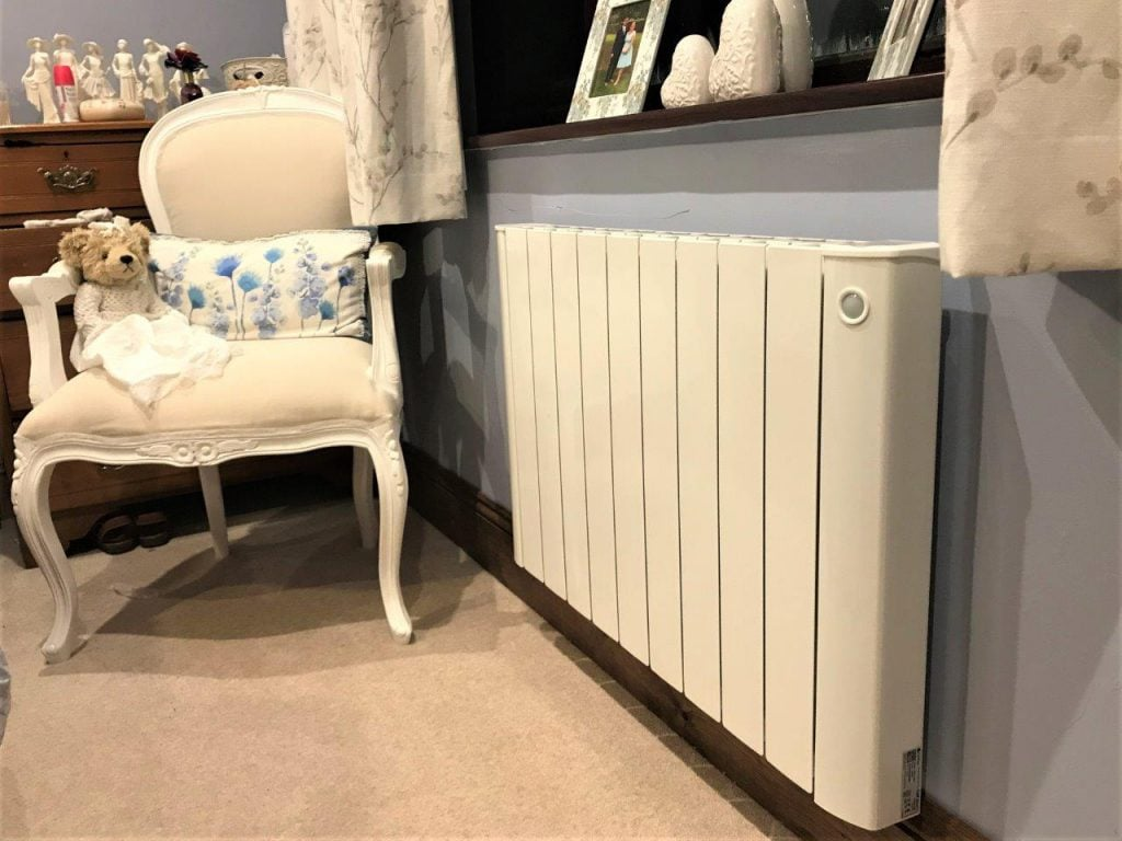 cali Sense smart electric radiators installation